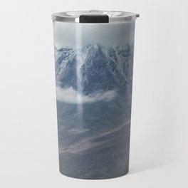 Close up view of volcano Chachani Travel Mug