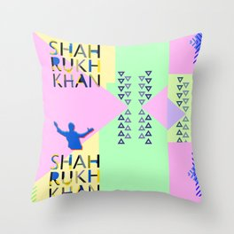 Shahrukh Khan Art Throw Pillow