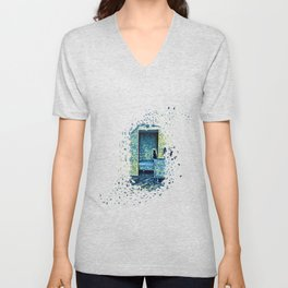 Cats of Expressionism Unisex V-Neck