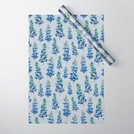 Blue Bonnets Wrapping Paper