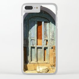 """""""Old Door"""" / Porte Vintage / by WHITEECO Ecologic design Clear iPhone Case"""