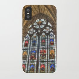 Windows of Westminster Abbey iPhone Case