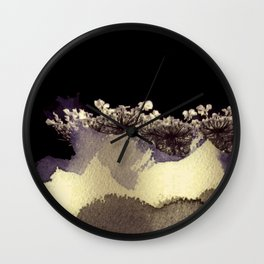 emergent umbellifer Wall Clock