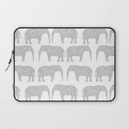 Alabama bama crimson tide elephant state college university pattern footabll Laptop Sleeve