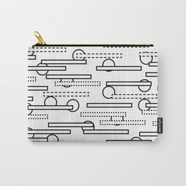 Rectangles+Circles Carry-All Pouch