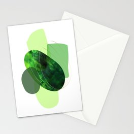 Still Life With Green Stones Stationery Cards
