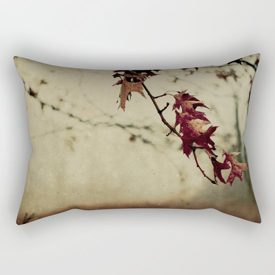Knowing When to Let Go Rectangular Pillow