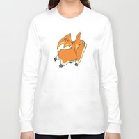 digimon Long Sleeve T-shirts featuring Patamon by Jelecy