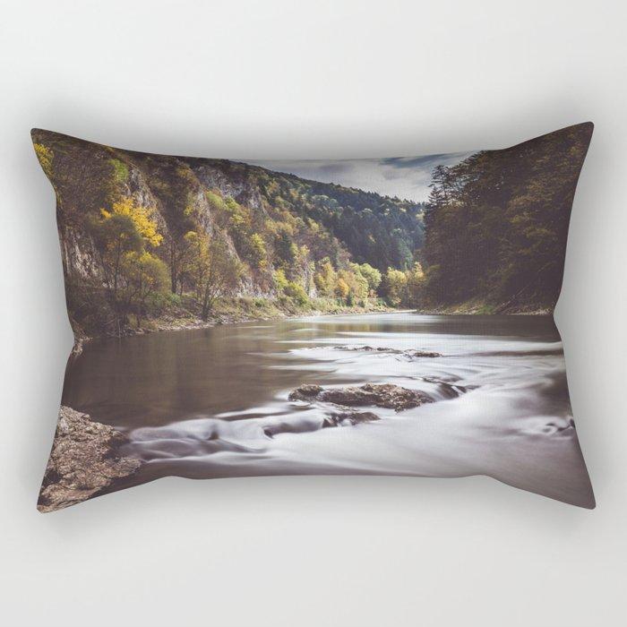 Dunajec River - Landscape and Nature Photography Rectangular Pillow