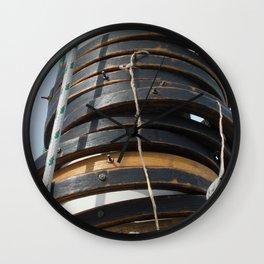 Mast hoops on Sailing Schooner Wall Clock