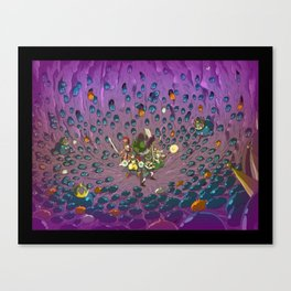 Slimed ! Canvas Print