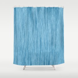 Crinkle in Blue Shower Curtain
