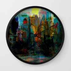 A moment in your city Wall Clock