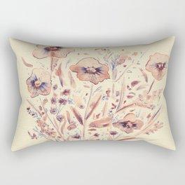 flores bonitas Rectangular Pillow