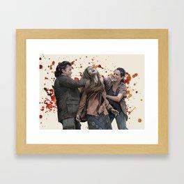 Eugene and Tara Framed Art Print
