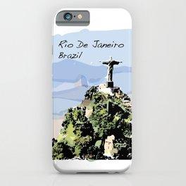 Rio De Janeiro Brazil Christ the Redeemer iPhone Case
