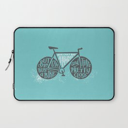 You Can't Buy Happiness Laptop Sleeve