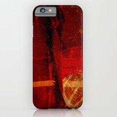 Abstract Red Light iPhone 6s Slim Case