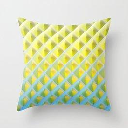 Deep Magic grid 04 Throw Pillow