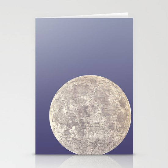 Moon Bounce Stationery Cards