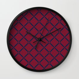 Diamond Drop Wall Clock