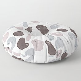 Smiling Shapes Floor Pillow