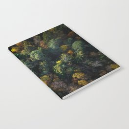 Forest Landscape - Aerial Photography Notebook