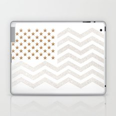 GOLD Stars & Stripes Laptop & iPad Skin