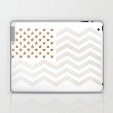 GOLD Stars & Stripes Laptop & iPad Skin