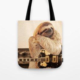 Rockstar Sloth Tote Bag