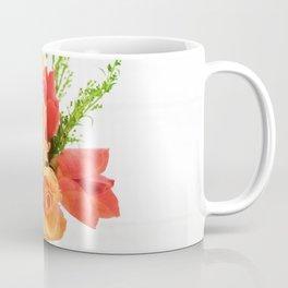 orange roses and leaves Coffee Mug