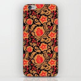 Khokhloma Kulture Pattern iPhone Skin
