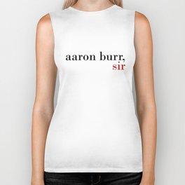 Aaron Burr, sir Biker Tank
