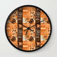 chemistry Wall Clocks featuring chemistry by kociara