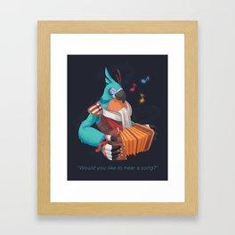 Kass' Song Framed Art Print