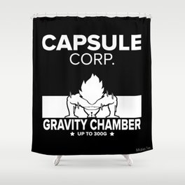 Gym Saiyan Shower Curtain