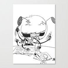 test taking machine 02 Canvas Print