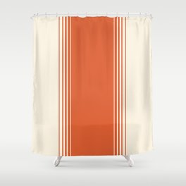 Marmalade & Crème Vertical Gradient Shower Curtain