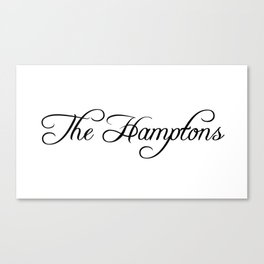 The Hamptons Canvas Print