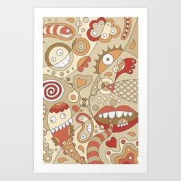 Sporads Art Print