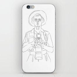 Vivian Maier iPhone Skin