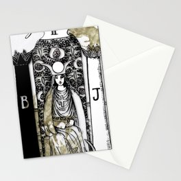 Glamour Tarot The High Priestess Stationery Cards