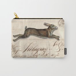 The French Rabbit Carry-All Pouch