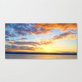 Awaiting Sunset Canvas Print