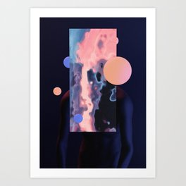 who i am Art Print