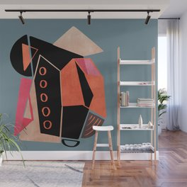 Modern minimal forms 33 Wall Mural
