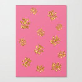 PinkFrog Canvas Print