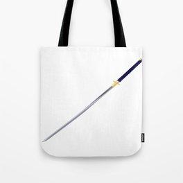 Samurai Sword Tote Bag