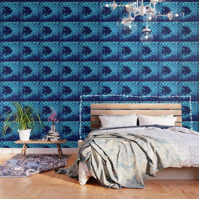 Blue Fish Angel Anglers Angles Wallpaper