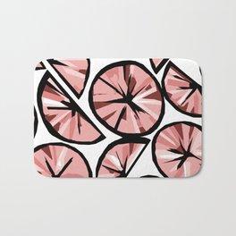 Pink Limes Bath Mat